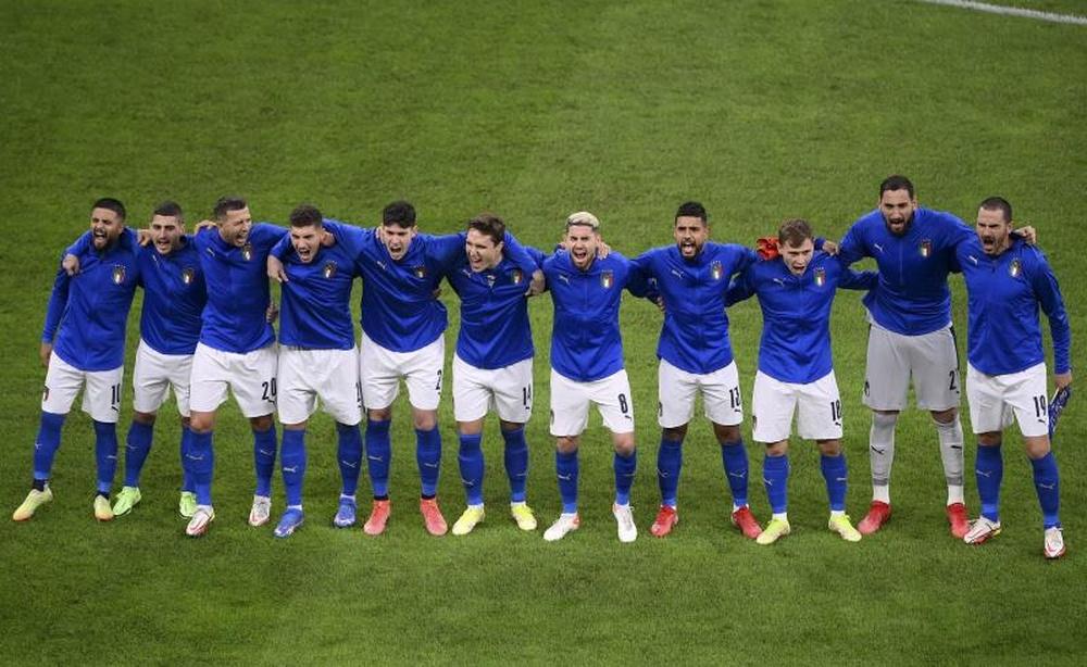 Ultim'ora del calcio italiano in data 11 ottobre 2021. EFE