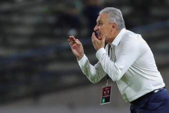 Tite dio su opinión sobre el 0-0 ante Colombia. EFE