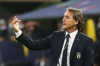 Roberto Mancini retient du positif de ce Final Four. EFE