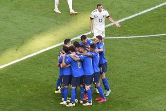 L'Italie finit troisième de la Ligue des Nations. EFE/EPA/Massimo Rana