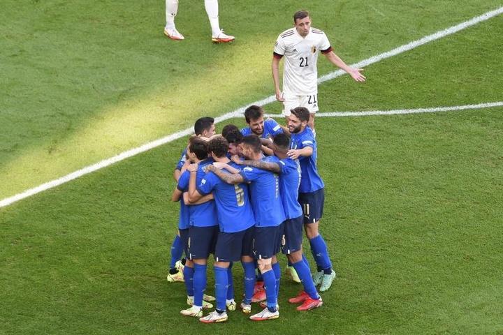 Itália bate Bélgica e é a 3ª colocada da Liga das Nações. EFE/EPA/Massimo Rana