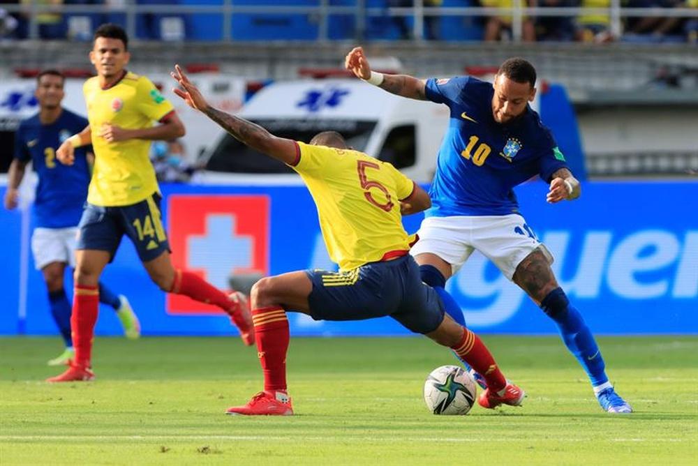 Actualidad del día en el fútbol colombiano a 12 de octubre de 2021. EFE