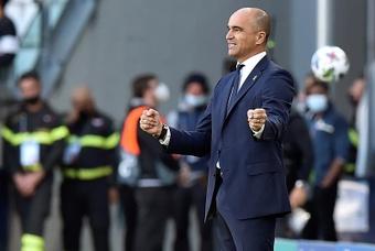 La Belgique apporte son soutien à Roberto Martinez. EFE