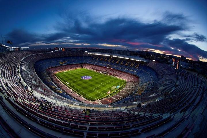 Full capacity stadiums are back in Catalonia. EFE