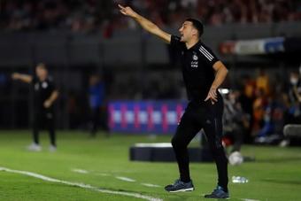 Scaloni, contento con la actuación de Argentina. EFE