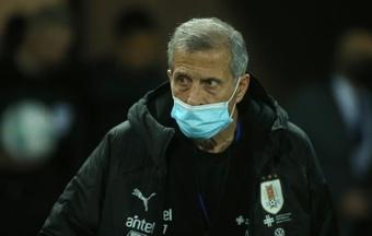 Uruguai divulga lista de convocados para as Eliminatórias. AFP