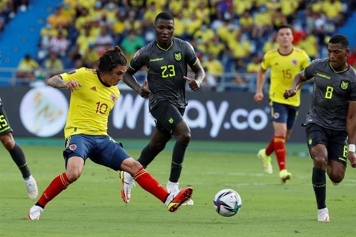 Colombia y Ecuador se neutralizaron en Barranquilla (0-0). EFE