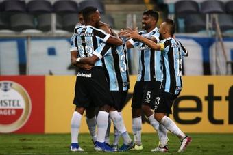 Grêmio perto da despromoção.EFE