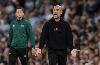 Guardiola speaks on Newcastle's takeover. EFE