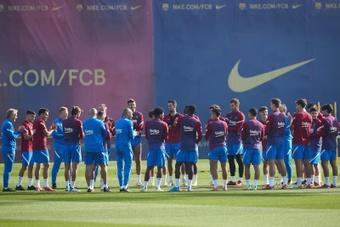 Convocatória do Barça.EFE