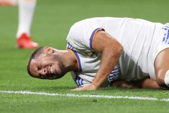 Hazard will not travel to Ukraine with the team. EFE