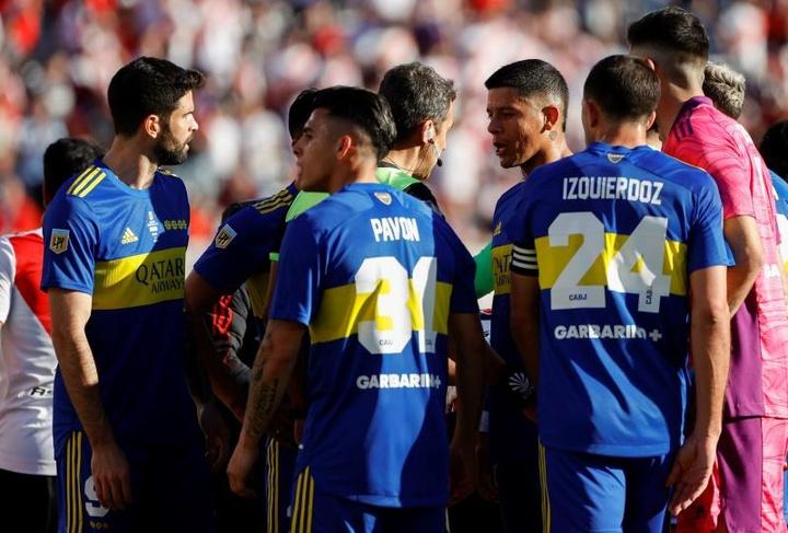 Boca goléo 0-3 a Huracán. EFE