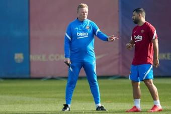 Barcelona divulga lista de relacionados com Agüero e Balde. AFP