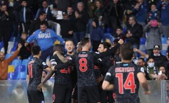 Ultim'ora del calcio italiano in data 17 ottobre 2021. AFP