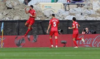 El Sevilla quedó atrapado en Vigo por culpa de la niebla. EFE