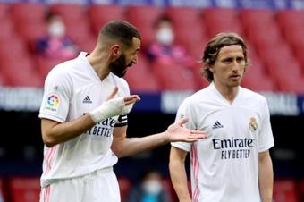 Modric pede a Bola de Ouro para Benzema.EFE