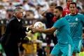 Ancelotti confirmó la vuelta de Hazard a una convocatoria del Madrid. EFE/Archivo