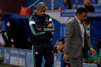 Pellegrini consideró justo el empate del Betis. EFE
