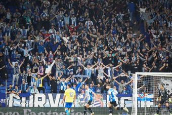 El Espanyol volvió a ganar en casa. EFE