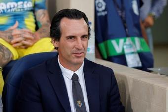 Emery espera un partido trabado ante el Cádiz. EFE