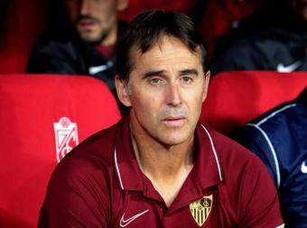 Sevilla vai caminhando na Champions de empate em empate. EFE/ Pepe Torres