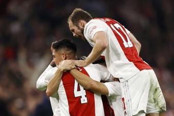 El Ajax ganó 4-0 al Borussia Dortmund. EFE