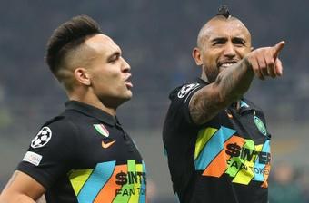 Vidal ha marcado con tres equipos distintos en Champions. EFE