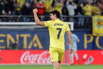 Gerard Moreno ya sabe lo que es marcar en todas las competiciones que ha jugado. EFE/Archivo