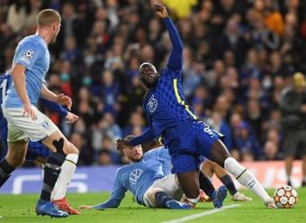 Lukaku got injured against Malmo. EFE