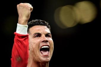 Cristiano Ronaldo sauve à nouveau les siens à Old Trafford. EFE