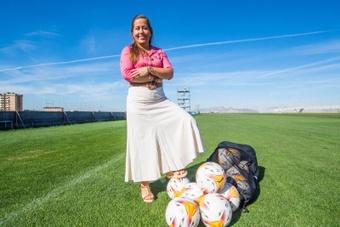 Patricia Rodríguez, un espejo para la mujer en el deporte. EFE