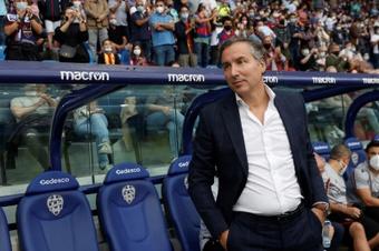 Pereira analizó el partido contra el Sevilla. EFE