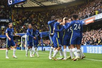El Chelsea arrolla al Norwich. EFE