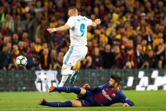 Ancelotti podrá contar con el francés ante el Barça. EFE