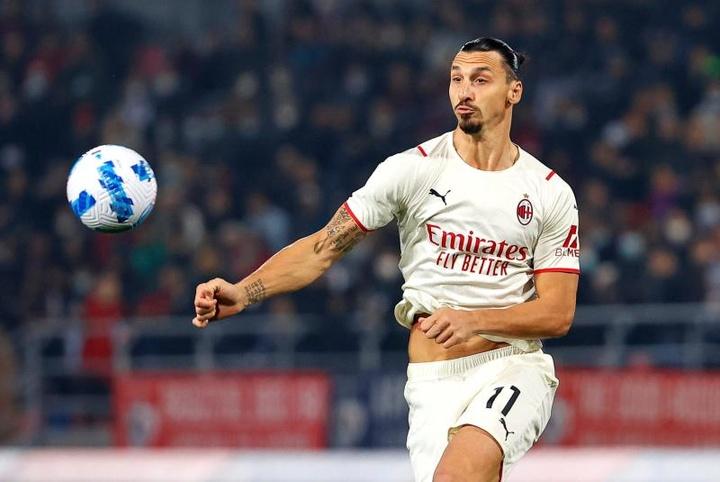 Ibrahimovic se hizo un autogol y se desquitó con el 2-4. EFE
