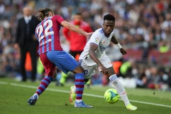 Vinicius a remporté le duel des princes face à Ansu Fati. EFE