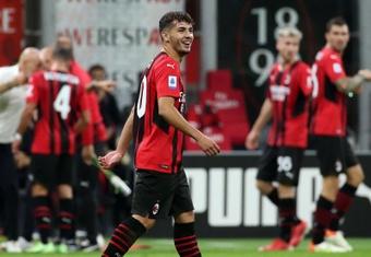 L'AC Milan retrouve Brahim Diaz, négatif au Covid-19. efe