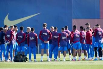 Dembélé toujours absent du groupe du Barça pour affronter le Rayo. efe