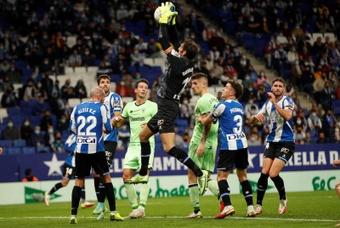 El Espanyol y el Athletic empataron a uno. EFE