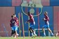 El Barcelona cambia su entrenamiento. EFE