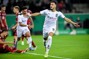 El 'Gladbach ganó 5-0 al Bayern. EFE