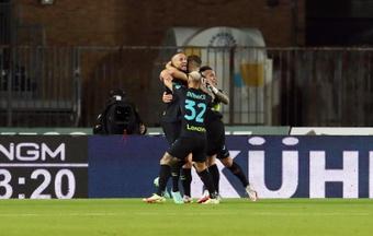 L'Inter ha battuto l'Empoli al Castellani. AFP