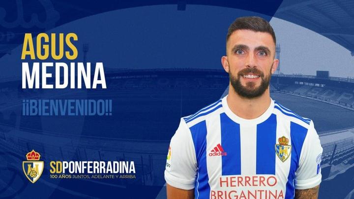 Agus Medina ficha por la Ponferradina procedente del Birmingham City. SDPonferradina