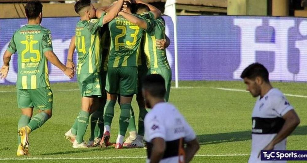 Aldosivi venció 0-2 a Platense en la jornada 11. Captura/TyCSports