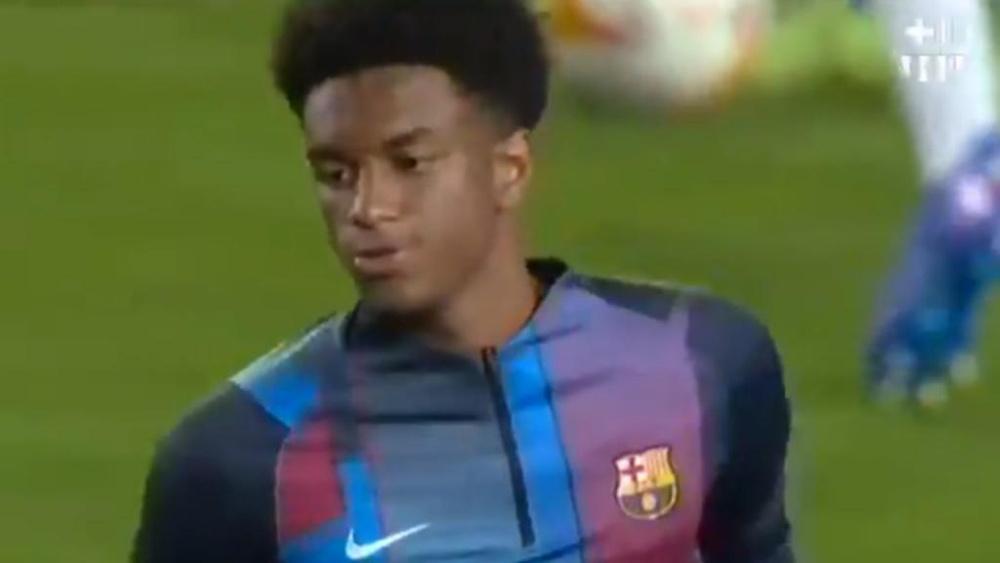 Balde debutta in Liga. Twitter/FCBarcelona