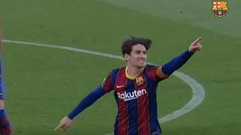 Barça e Sporting de Braga têm pressa: Collado duvida.Captura/FCBarcelona