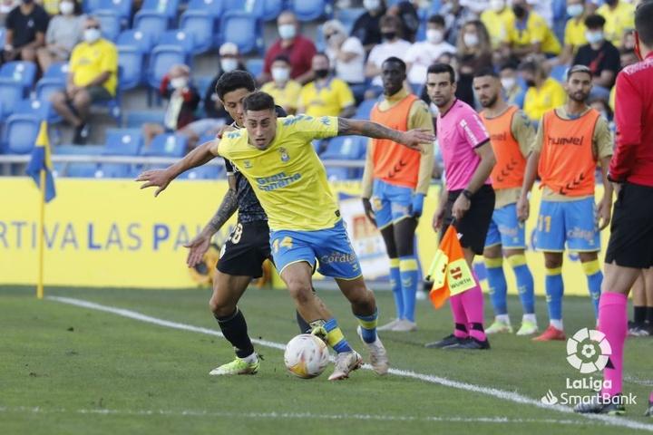 Las Palmas noqueó a la Ponferradina. LaLiga