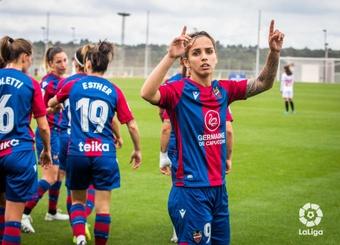 Victoria del Levante ante el Sevilla. LaLiga