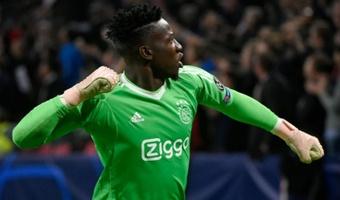 Onana apunta a abandonar el Ajax. AFP