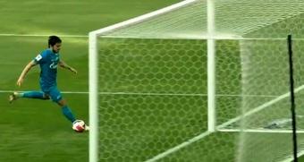 Dos 3-1 'mentirosos': el Zenit suda y el Lokomotiv sufre de lo lindo. Captura/LaLigaSportTV
